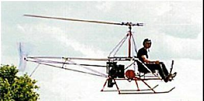 A-B Helicopters A/W 95 Ultralight Helicopter Mahogany