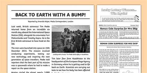 3+ Journalistic Report Examples - PDF   Examples