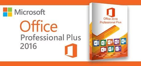 Microsoft Office 2016 Professional Plus on Software - PC