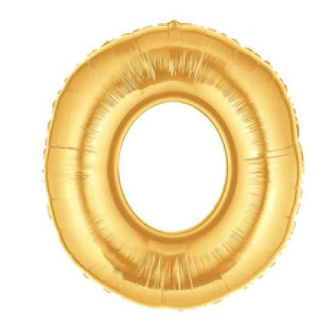 Betallic 14 Number 0 Gold - from category Numbers Balloons