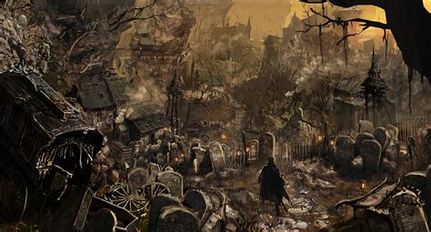 PS4 Exclusive Bloodborne Gets New Concept Arts, Shows