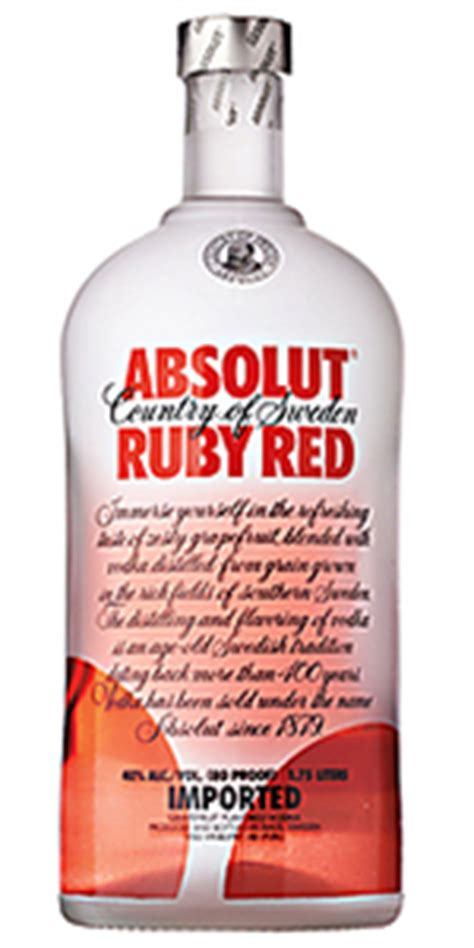 Absolut Ruby Red Vodka 1