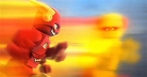 """LEGO DC Super Heroes: The Flash """"Time Loop"""" Clip 