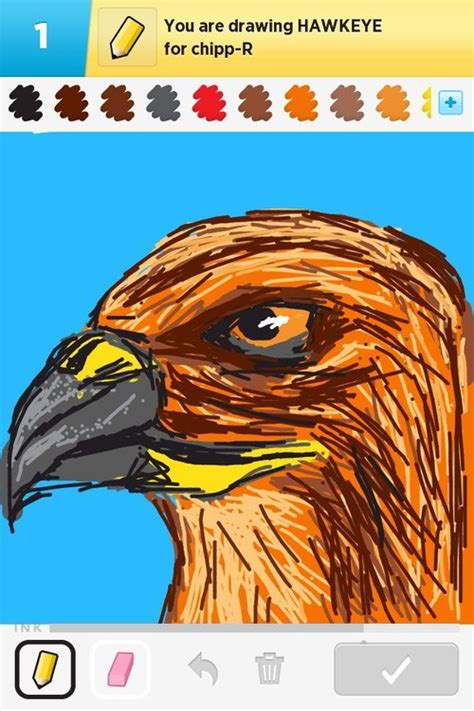 Hawkeye Drawings - The Best Draw Something Drawings and