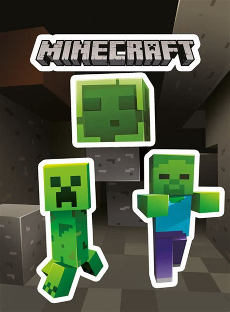 Minecraft - Creepers Autocolant   Europosters