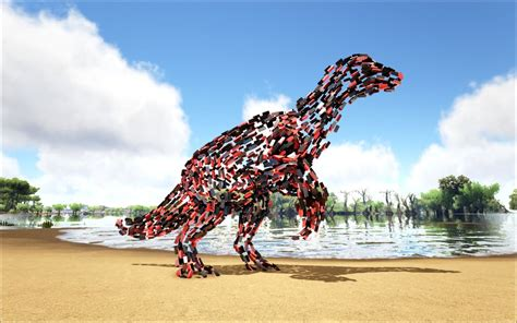 Unknown Fire Therizinosaur - Official ARK: Survival