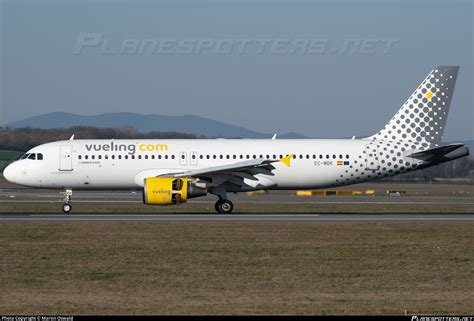 EC-MBK Vueling Airbus A320-214 Photo by Martin Oswald   ID