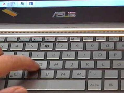 ASUS UX21 Review Part 3 -Keyboard Issues Explained - YouTube