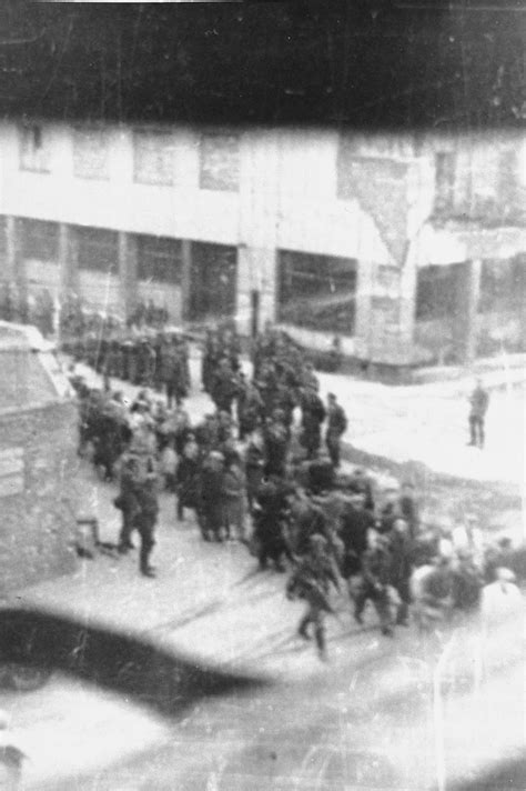 Jews captured by the SS during the suppression of the