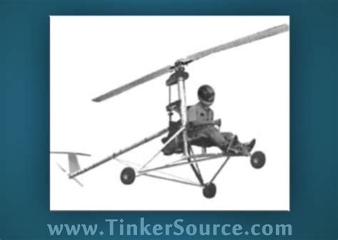 MINI-1 Ultralight Helicopter plans CD heli aircraft