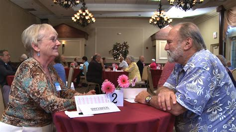 Speed Dating For Seniors Who Aren't Interested In Slowing