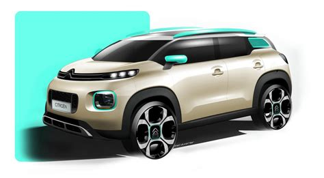 Citroën C3 Aircross Compact SUV - Photos, details and