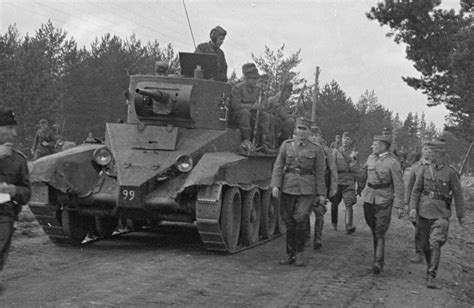 FINNISH ARMY 1918 - 1945: BT-5, BT-7 AND T-50 TANKS