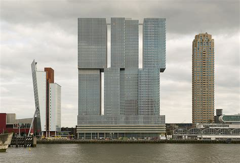 De Rotterdam by OMA/Rem Koolhaas architects, Rotterdam, NL