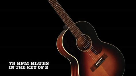 Slow Acoustic 12 bar Blues backing track in E - YouTube