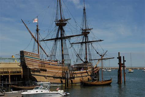 The Mayflower II Sails Home to Plymouth
