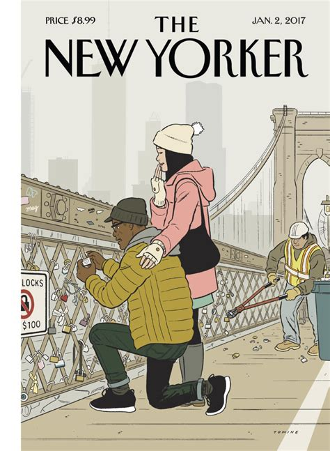 The New Yorker reveals Adrian Tomine's latest cover