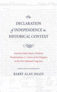 Declaration of Independence in Historical Context - Ebok