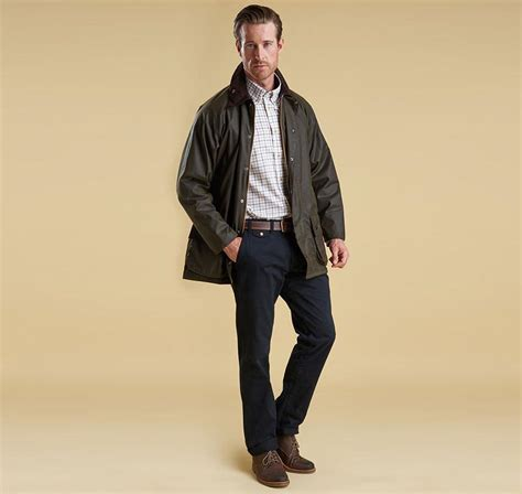 Barbour Beaufort Waxed Jacket   North Shore Saddlery