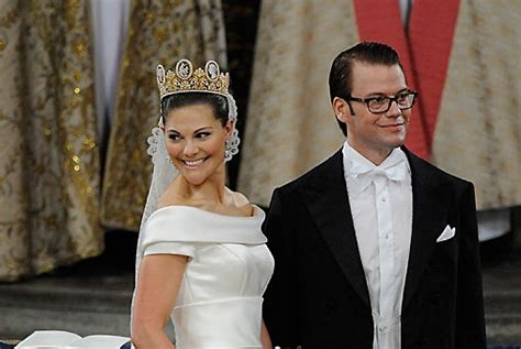 Crown Princess Couple's wedding at Stockholm Cathedral
