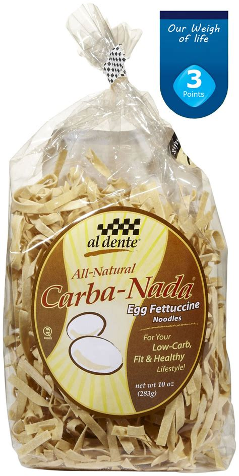 """Our Weigh of Life: PRODUCT: """"Carba-nada"""" Noodles (3 points+)"""