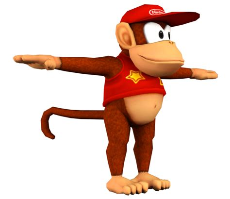 Mobile - Mario Kart Tour - Diddy Kong - The Models Resource