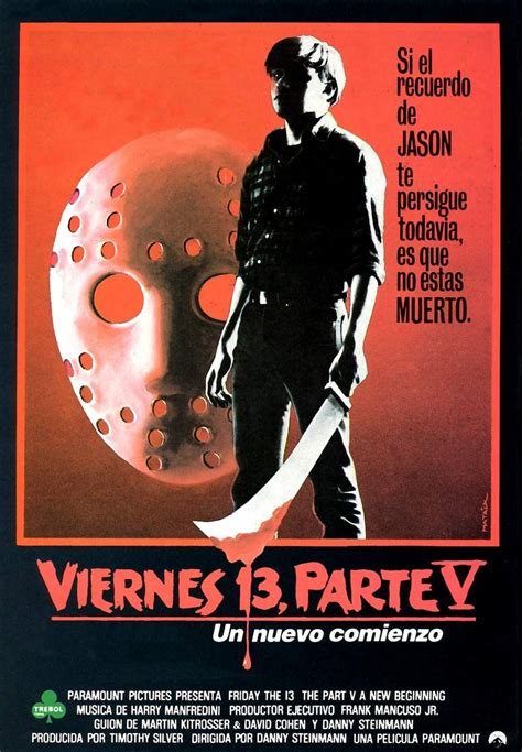 Friday the 13th Part V: A New Beginning (1985)   Viernes
