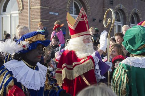 Santa Claus Arrives In Holland Editorial Image - Image of