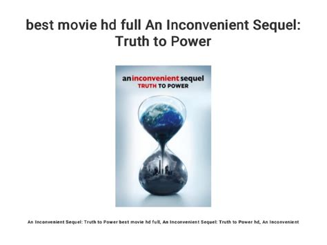 best movie hd full An Inconvenient Sequel: Truth to Power