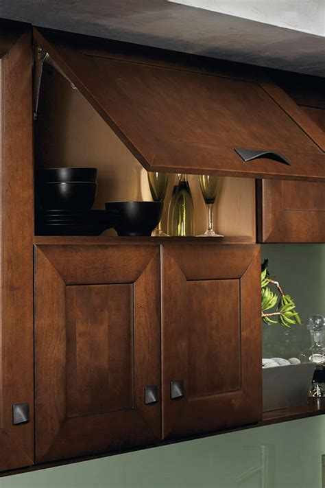 Wall Lift Up Cabinet - Kitchen Craft Cabinetry