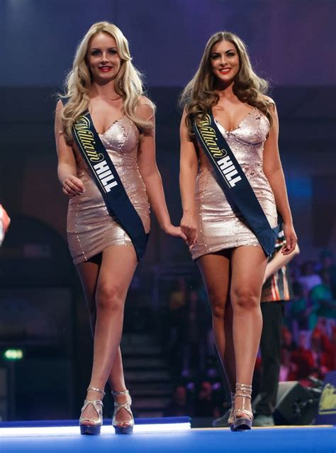 Darts walk-on girls banned from PDC World Championship
