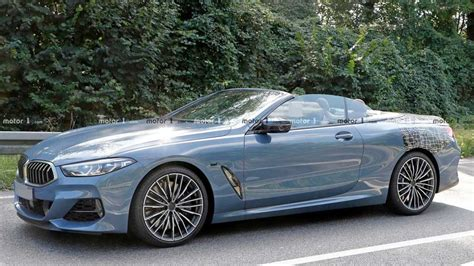 Flagship BMW 8-Series Convertible Caught Almost Undisguised