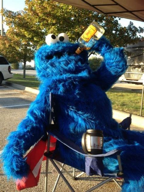 Sad Cookie Monster - Funny - Faxo