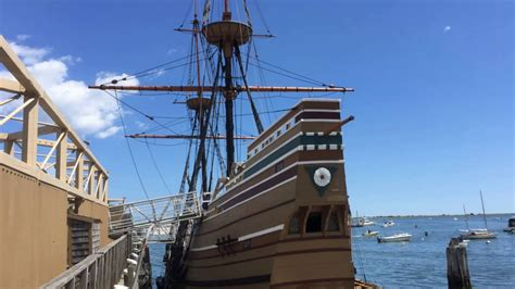 MA: Plymouth, Mayflower, Plymouth Rock - YouTube