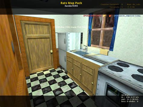 Rats Map Pack (Counter-Strike 1