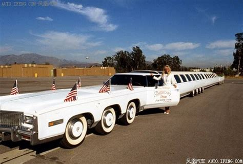 The Longest Car In The World With A Swimming Pool
