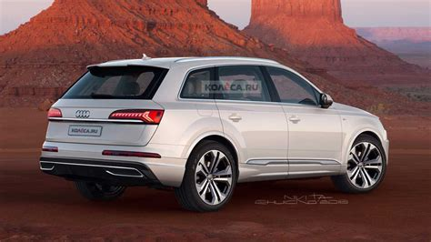 2020 Audi Q7 Facelift Accurately Rendered Based On Spy Shots