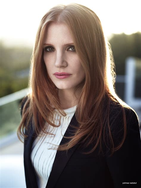 Jessica Chastain Reveals New Bangs Hairstyle | Fashion