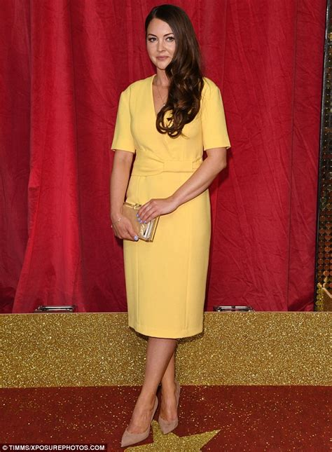 British Soap Awards winner Lacey Turner opts for demure