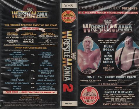 Cardboard Clubhouse: Wacky Wrestling VHS Boxes #9: Another