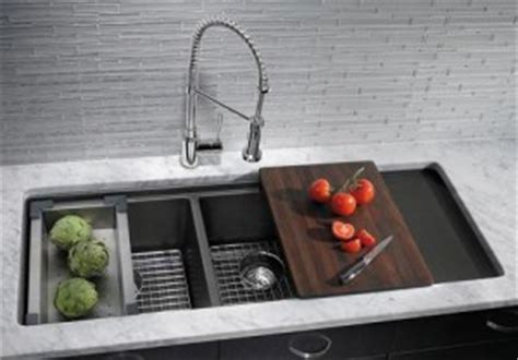Scratch-Resistant Silgranit Kitchen Sinks by Blanco are