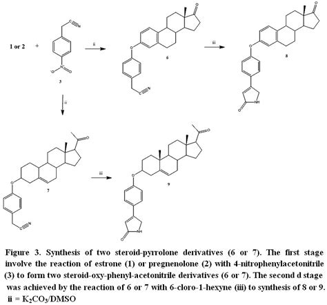Design and Synthesis of Two Steroid-Pyrrolo-Triazecin