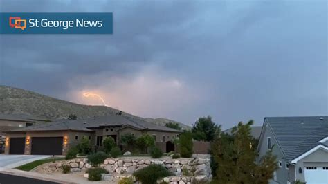UPDATED: Flash flood warning issued as strong thunderstorm